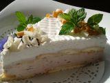 Snadný nepečený tvarohový dortík recept