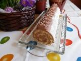 Kokosovo-čokoládová roláda recept