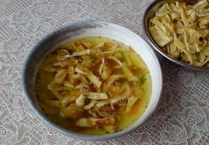 Celestýnské nudle do polévky