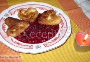 Valentínská krupicová srdíčka