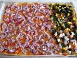 Polentová pizza recept
