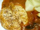 Kuřecí prsíčka na bazalce recept