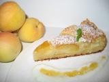 Meruňkový koláč z tvarohového těsta recept