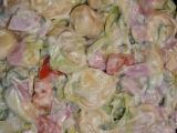 Tortelini salát recept