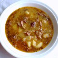 Polévka z uzených kostí a zelí recept