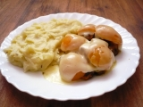 Krůtí prsa na kari s meruňkou (broskví) recept