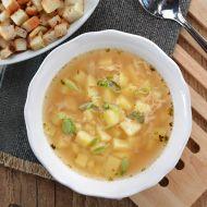 Naše česneková polévka recept