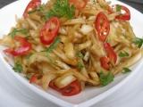 Asijský pikantní zelný salát recept