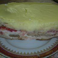 Studený dort s piškoty recept