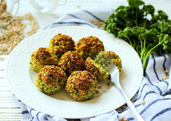 Brokolicovo-parmezánové kuličky recept