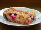 Rychlý ovocný koláč s drobenkou recept