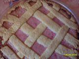 Mřížkový koláč s jahodovým tvarohem recept