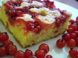 Třený koláč s ovocem recept