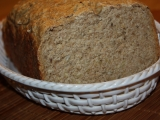 Podmáslový chleba celozrnný recept