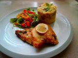 Pražma a žampionové brambory recept