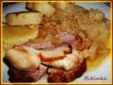 Uzená rolka plněná kuřecím masem na celeru v PH recept ...