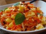 Celerovo-jablkovo-mrkvový salát recept