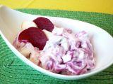 Rybí salát s červenou řepou recept