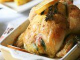 Jarní kuřátko plněné špenátovou nádivkou recept