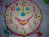 Hodinový dort pro děti recept