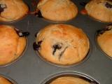 Borůvkové muffiny recept