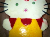 Dort Hellou Kitty recept