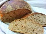 Kváskový chléb bez hnětení recept