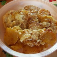 Zapečená krkovice s brambory recept