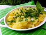 Rychlý a levný bramborový salát recept