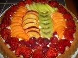 Ovocný dort pro maminku k 60 recept