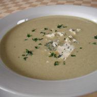 Pórková polévka se sýrem recept