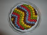 Lentilkový dort recept