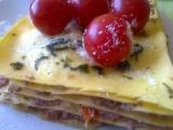 Zapečené lososové lasagne recept