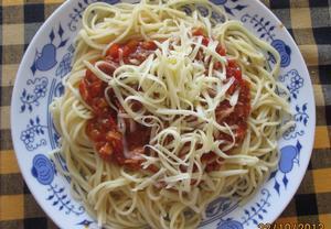 Rychlá směs na špagety
