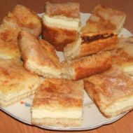 Rychlý tvarohový koláč recept