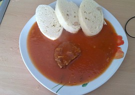 Rajská omáčka s hovězím masem recept