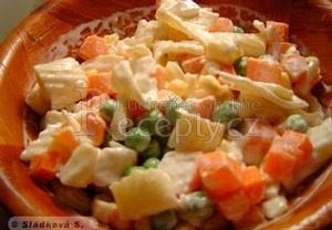 3x3  těstovinový salát