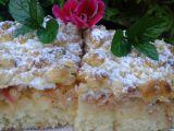 Šlehačkový koláč s jablky recept