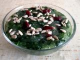 Tapioka se špenátem a sušenými brusinkami recept