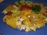 Smetanové brambory s kuřecím masem recept