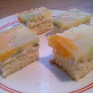 Skvělé ovocné řezy recept