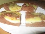 Vanilkovo-kakaové řezy recept