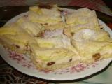 Linecký tvarohový koláč recept