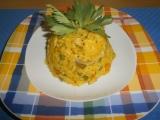 Dýňové rizoto s kuřecím masem recept