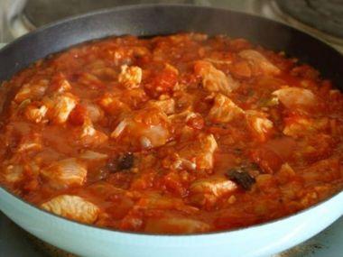 Recept Fazolový kuřecí guláš