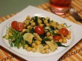 Cizrna s kuřecím masem a špenátem recept