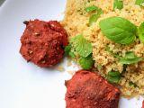 Falafel z červené řepy s mátou a kuskusem recept