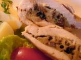 Krůtí (kuřecí) prsa s nádivkou recept