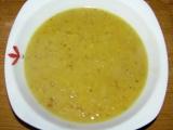 Polévka z červené čočky. recept