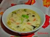 Polévka se šafránem a zakysanou smetanou recept